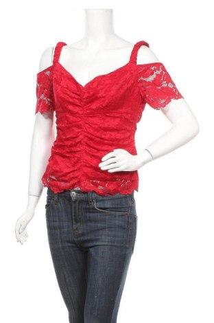 Γυναικεία μπλούζα Marciano, Μέγεθος L, Χρώμα Κόκκινο, 92% πολυαμίδη, 8% ελαστάνη, Τιμή 30,81€