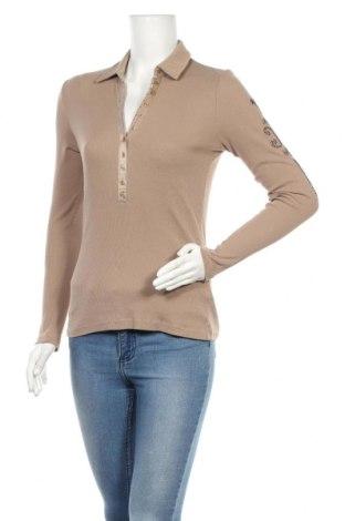 Γυναικεία μπλούζα Margittes, Μέγεθος M, Χρώμα Καφέ, 95% βαμβάκι, 5% ελαστάνη, Τιμή 9,18€