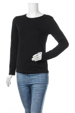 Γυναικεία μπλούζα Massimo Dutti, Μέγεθος L, Χρώμα Μαύρο, 92% βαμβάκι, 8% ελαστάνη, Τιμή 12,99€
