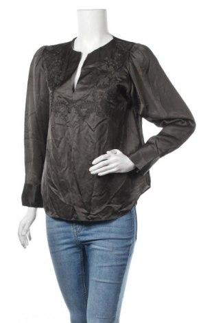 Γυναικεία μπλούζα Massimo Dutti, Μέγεθος M, Χρώμα Πράσινο, 55% βισκόζη, 45% lyocell, Τιμή 21,58€