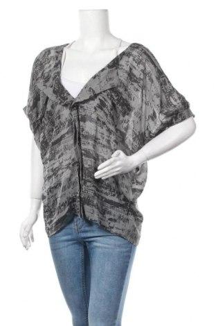 Дамска блуза Object, Размер M, Цвят Сив, Полиестер, Цена 4,37лв.