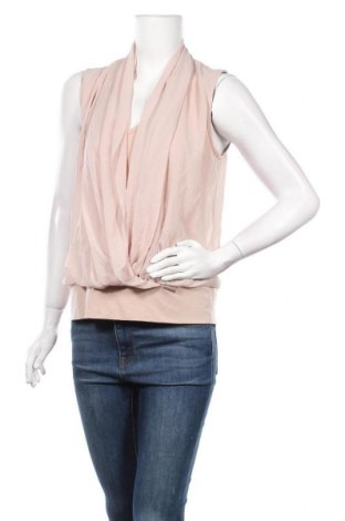 Γυναικείο αμάνικο μπλουζάκι Rinascimento, Μέγεθος L, Χρώμα  Μπέζ, Τιμή 12,47€