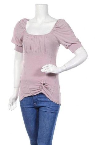 Γυναικεία μπλούζα Siste's, Μέγεθος M, Χρώμα Ρόζ , 95% βισκόζη, 5% ελαστάνη, Τιμή 3,18€