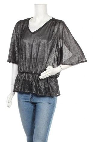 Дамска блуза Vrs Woman, Размер S, Цвят Черен, Полиестер, Цена 2,00лв.
