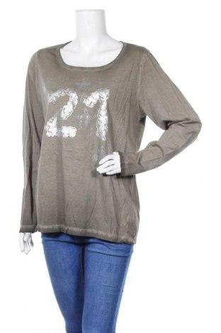 Дамска блуза Z-One, Размер L, Цвят Зелен, Памук, Цена 5,07лв.