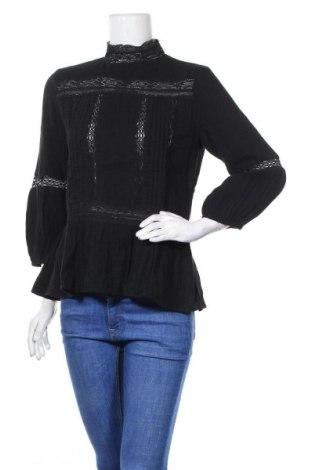 Γυναικεία μπλούζα Zara, Μέγεθος M, Χρώμα Μαύρο, Βαμβάκι, Τιμή 19,48€