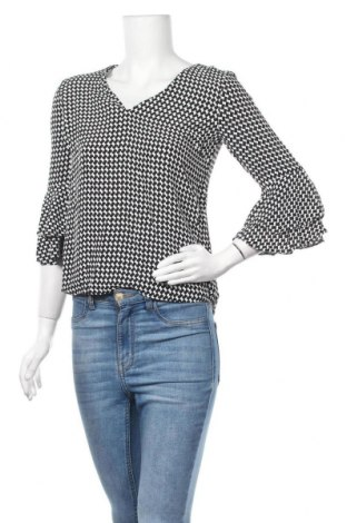 Дамска блуза Zara, Размер XS, Цвят Черен, Цена 24,57лв.