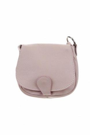 Дамска чанта, Цвят Розов, Естествена кожа, Цена 40,05лв.