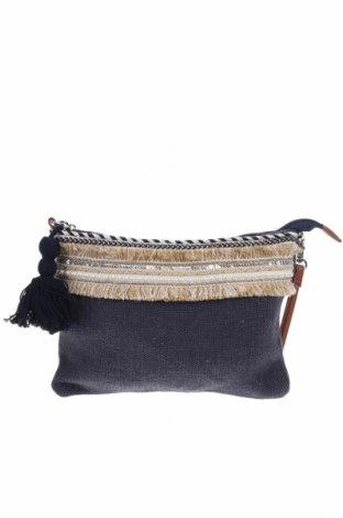 Γυναικεία τσάντα, Χρώμα Μπλέ, Κλωστοϋφαντουργικά προϊόντα, Τιμή 12,14€