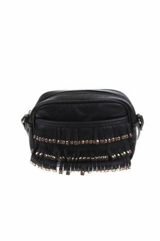 Дамска чанта, Цвят Черен, Еко кожа, Цена 21,74лв.