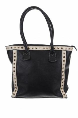 Дамска чанта, Цвят Черен, Еко кожа, Цена 24,57лв.