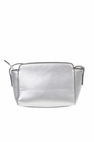 Γυναικεία τσάντα, Χρώμα Γκρί, Δερματίνη, Τιμή 13,16€