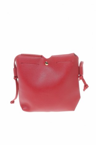 Дамска чанта, Цвят Червен, Еко кожа, Цена 19,69лв.