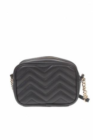 Дамска чанта F&F, Цвят Черен, Еко кожа, Цена 11,76лв.
