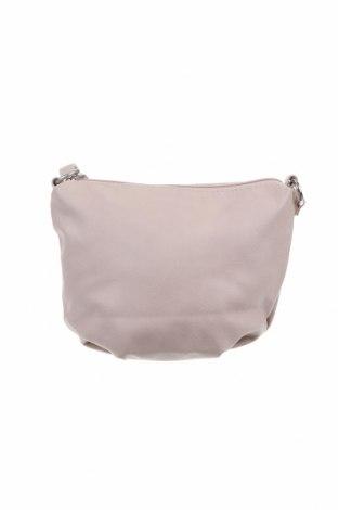Дамска чанта H&M, Цвят Бежов, Еко кожа, Цена 32,64лв.