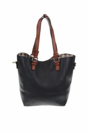 Дамска чанта Louenhide, Цвят Черен, Еко кожа, Цена 32,92лв.