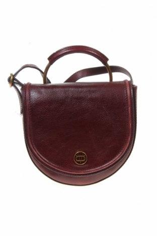 Γυναικεία τσάντα Massimo Dutti, Χρώμα Κόκκινο, Γνήσιο δέρμα, Τιμή 49,87€