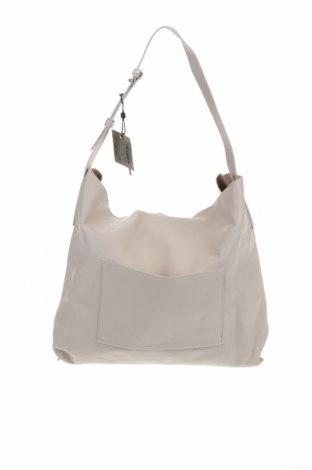 Γυναικεία τσάντα Massimo Dutti, Χρώμα  Μπέζ, Γνήσιο δέρμα, Τιμή 73,07€