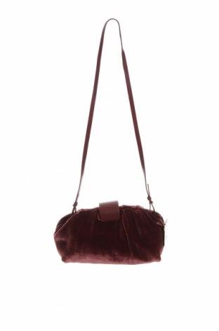 Γυναικεία τσάντα Massimo Dutti, Χρώμα Κόκκινο, Κλωστοϋφαντουργικά προϊόντα, γνήσιο δέρμα, Τιμή 31,14€