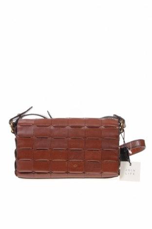 Γυναικεία τσάντα Massimo Dutti, Χρώμα Καφέ, Γνήσιο δέρμα, Τιμή 23,27€
