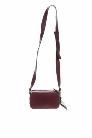 Γυναικεία τσάντα Massimo Dutti, Χρώμα Κόκκινο, Γνήσιο δέρμα, Τιμή 39,97€