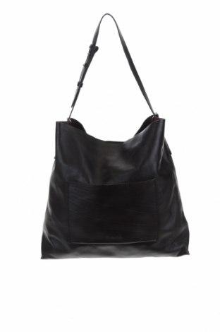 Γυναικεία τσάντα Massimo Dutti, Χρώμα Καφέ, Γνήσιο δέρμα, Τιμή 80,27€