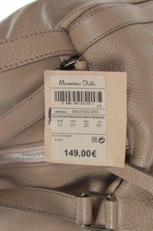 Γυναικεία τσάντα Massimo Dutti, Χρώμα Καφέ, Γνήσιο δέρμα, Τιμή 64,92€