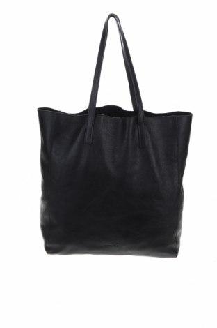 Γυναικεία τσάντα Massimo Dutti, Χρώμα Μαύρο, Γνήσιο δέρμα, Τιμή 53,58€
