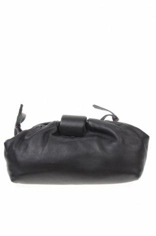 Γυναικεία τσάντα Massimo Dutti, Χρώμα Μαύρο, Γνήσιο δέρμα, Τιμή 23,64€