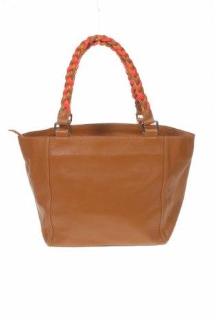 Дамска чанта Mile, Цвят Кафяв, Естествена кожа, Цена 56,70лв.