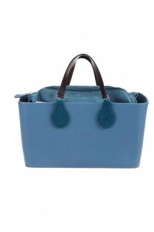Дамска чанта O bag, Цвят Син, Полиуретан, Цена 76,16лв.