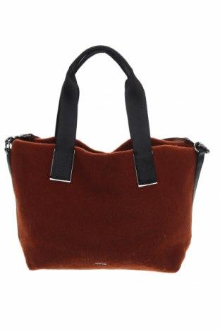 Дамска чанта Parfois, Цвят Кафяв, Текстил, Цена 31,19лв.