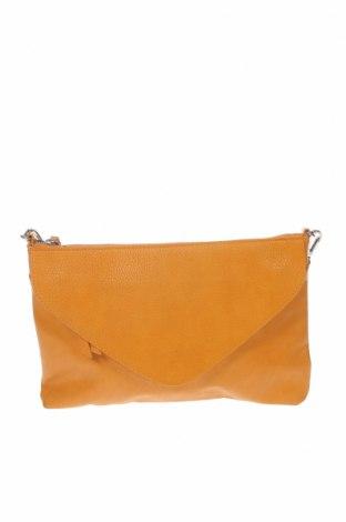 Дамска чанта Parfois, Цвят Бежов, Еко кожа, Цена 17,75лв.