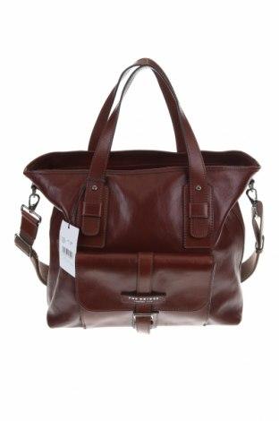Γυναικεία τσάντα The Bridge, Χρώμα Καφέ, Γνήσιο δέρμα, Τιμή 119,46€