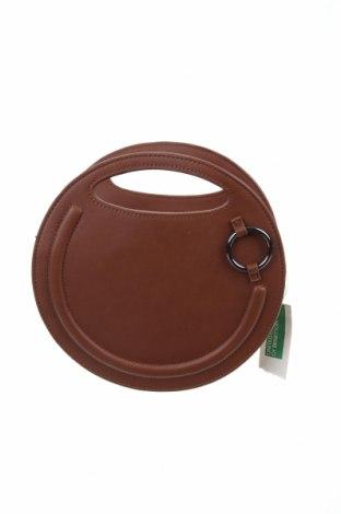 Γυναικεία τσάντα United Colors Of Benetton, Χρώμα Καφέ, Δερματίνη, Τιμή 12,47€