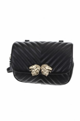 Γυναικεία τσάντα Zara, Χρώμα Μαύρο, Δερματίνη, Τιμή 16,89€