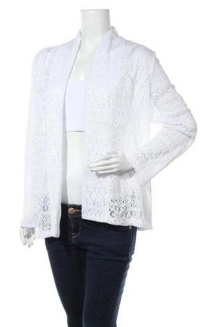 Дамска жилетка, Размер L, Цвят Бял, Цена 6,56лв.