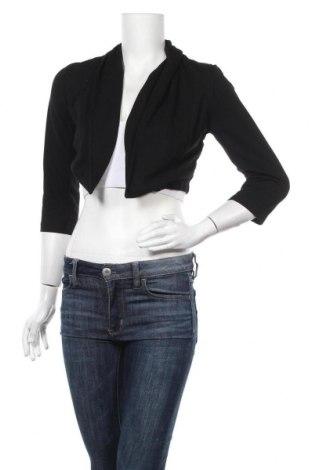 Дамска жилетка, Размер M, Цвят Черен, Вискоза, полиестер, еластан, Цена 5,59лв.