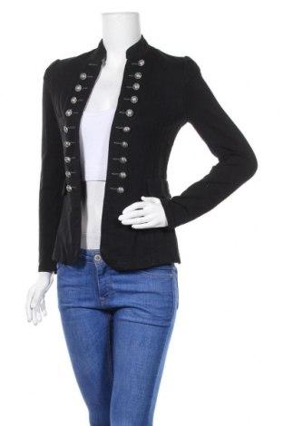 Дамска жилетка, Размер S, Цвят Черен, 95% памук, 5% еластан, Цена 19,11лв.
