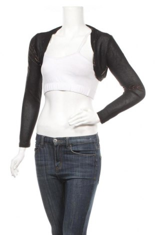Дамска жилетка, Размер M, Цвят Черен, 95% полиестер, 5% еластан, Цена 6,40лв.