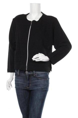 Дамска жилетка, Размер L, Цвят Черен, 50% памук, 50% модал, Цена 14,44лв.
