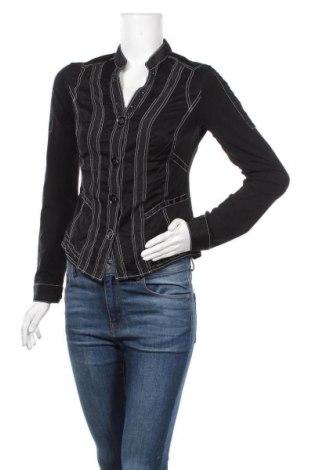Дамска жилетка Biba, Размер XS, Цвят Черен, 100% полиестер, Цена 8,82лв.