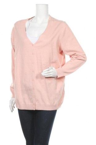 Дамска жилетка C&A, Размер XL, Цвят Розов, 80% памук, 20% полиамид, Цена 12,86лв.