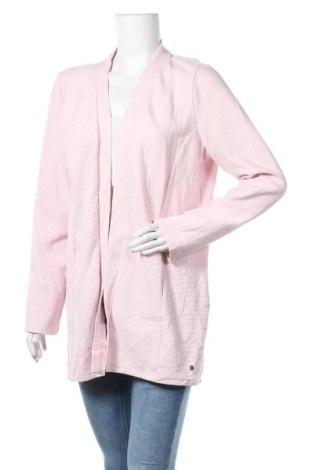 Дамска жилетка Cecil, Размер L, Цвят Розов, 50% памук, 45% полиестер, 5% еластан, Цена 15,70лв.