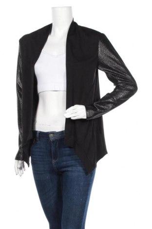 Дамска жилетка Crazy Wool, Размер M, Цвят Черен, 61% вискоза, 35% полиестер, 4% еластан, Цена 6,83лв.