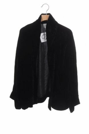 Дамска жилетка Gap, Размер XS, Цвят Черен, 82% вискоза, 18% коприна, Цена 15,70лв.
