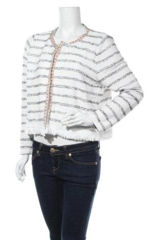 Дамска жилетка Gina, Размер XL, Цвят Бял, 59% полиестер, 29% памук, 12% вискоза, Цена 6,30лв.