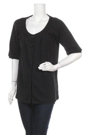 Дамска жилетка H&M, Размер S, Цвят Черен, Памук, Цена 5,78лв.