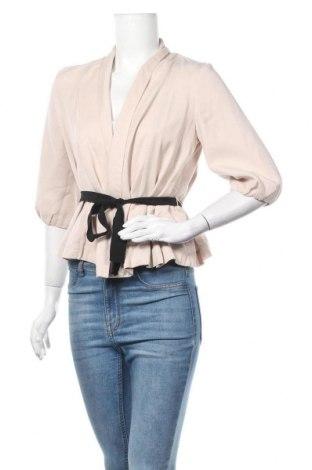 Дамска жилетка H&M, Размер S, Цвят Розов, Тенсел, Цена 10,29лв.