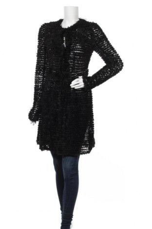 Дамска жилетка Haoduoyi, Размер M, Цвят Черен, Цена 17,64лв.